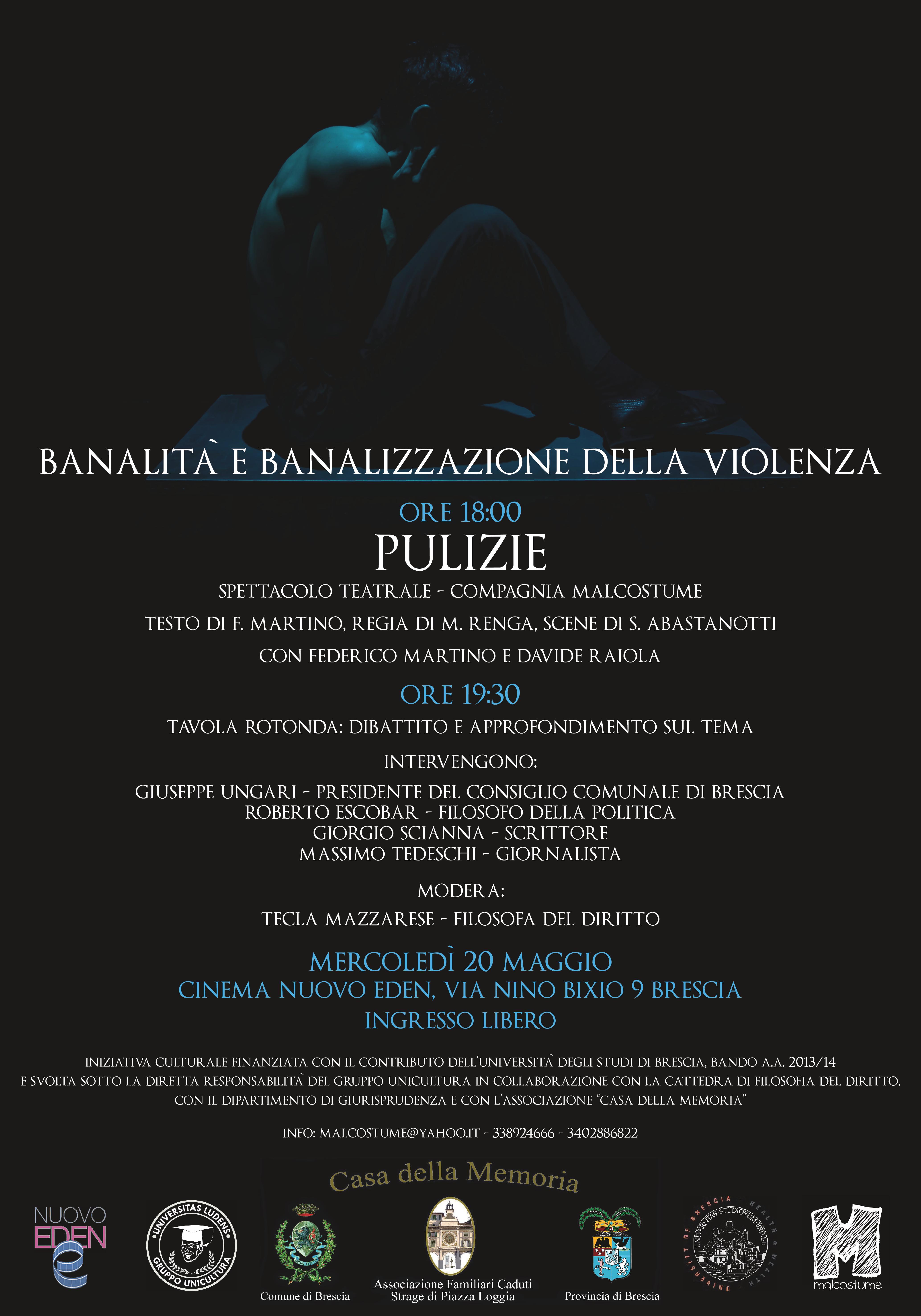 Locandina _Banalità e banalizzazione della violenza_ - Brescia 20 maggio 2015-page-001