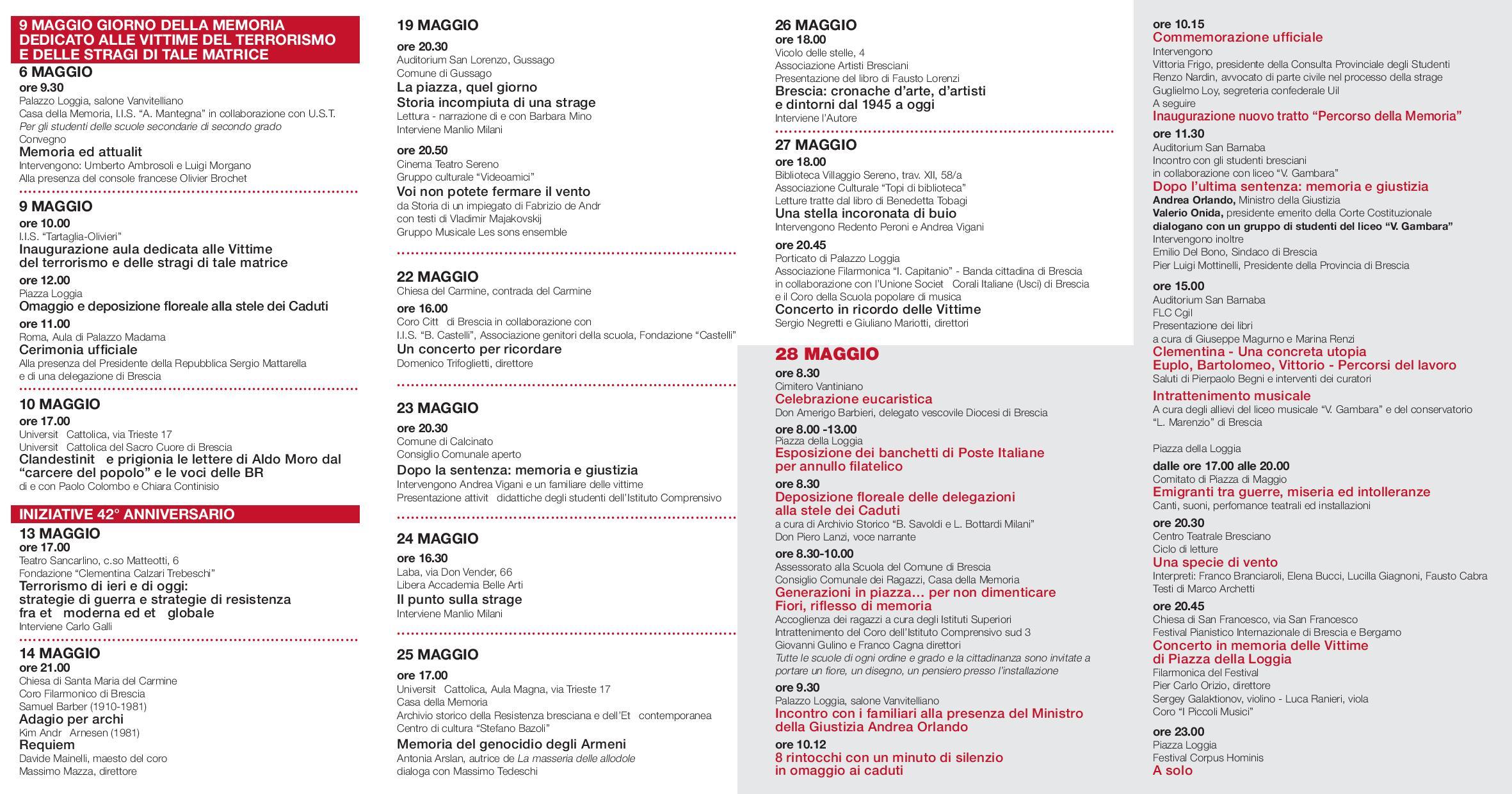 Programma 42° anniversario strage piazza Loggia-page-002