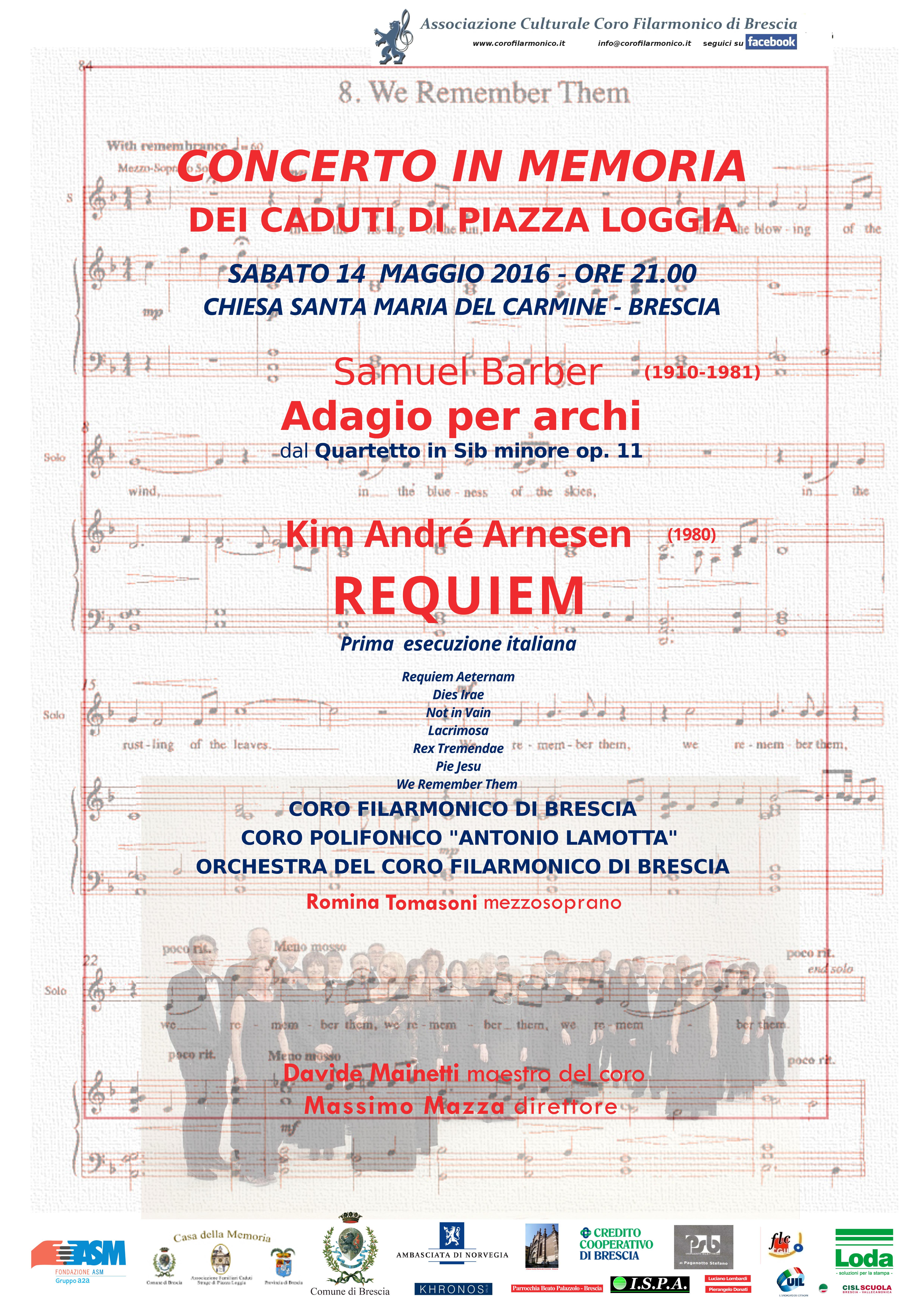 locandina concerto Requiem Arnesen (1)