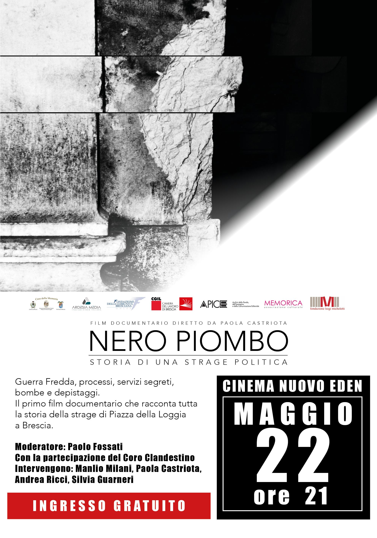 22 Maggio Nero Piombo