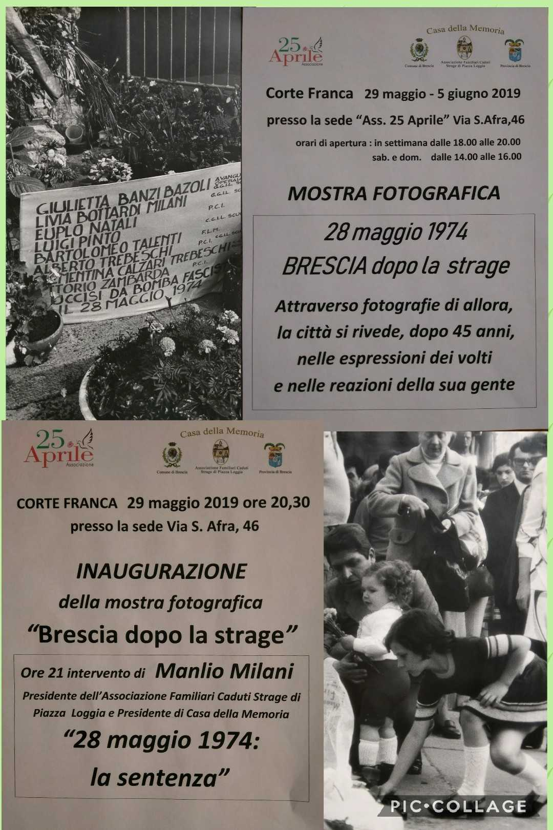 29 Maggio Brescia dopo la strage