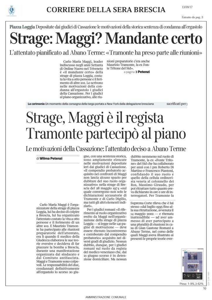 Pagine da Rassegna Stampa 13 Settembre Comune