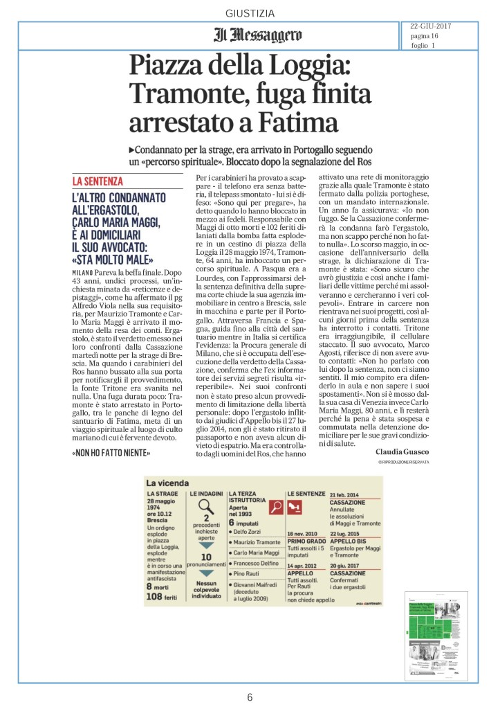 Pagine da Rassegna Stampa 22 Giugno Nazionale